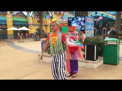 Valery&Elena Magic-Clown