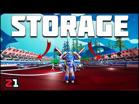 Super Storage System! Astroneer Update Gameplay | Z1 Gaming