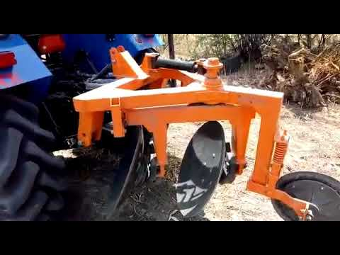 Hydraullic Reversible Disc Plough