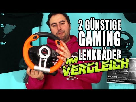 Gaming Lenkrad Vergleich - Speedlink Drift OZ & Black Bolt I Unboxing