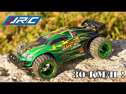 Cette Voiture Radiocommandée roule à 30 km/h JJRC Q36 RC Car 4WD Buggy Jouet Toy