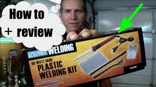 How To Use A Harbor Freight Plastic Iron Item 60662