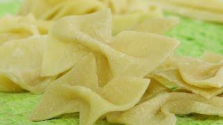 Домашние макароны  видео рецепт