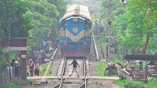 Old Kapotakkho Express with LHB Rakes Entering Jessore Junction Railway Station of BR