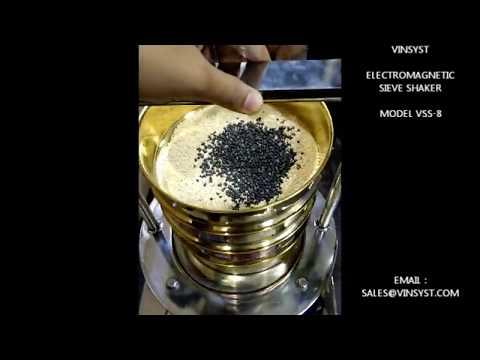 Wet Electromagnetic Sieve Shaker