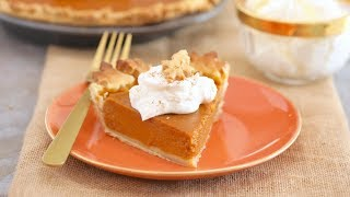 How to Make the Perfect Pumpkin Pie from Gemma Stafford of BiggerBolderBaking.com