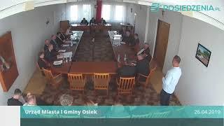 Film do artykułu: Sesja Rady Miasta Osiek w...