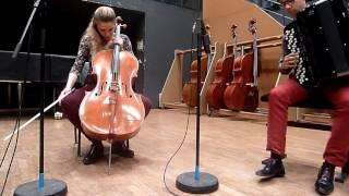 Lisa Strauss, BACH 1st suite: Prélude-Allemande-Gigue ELGAR cello concerto: 1&2 first mvt