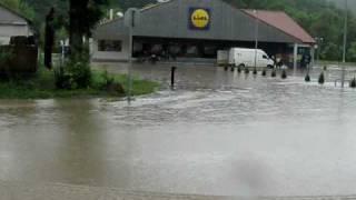 preview picture of video 'Kazincbarcika, a  Tardona patak áradása 2010. 05. 16.'