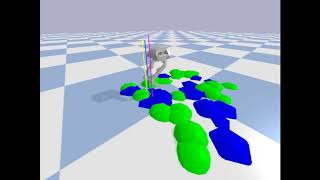 DeepQ Stepper: A framework for reactive dynamic walking on uneven terrain