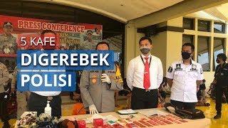 Lima Kafe di Gang Royal Jakarta Pusat Digerebek Polisi karena Langgar Aturan PSBB