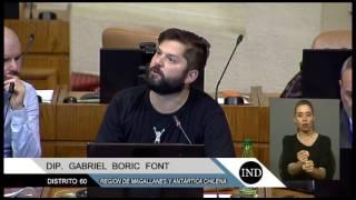 Gabriel Boric a los trabajadores y trabajadoras en paro