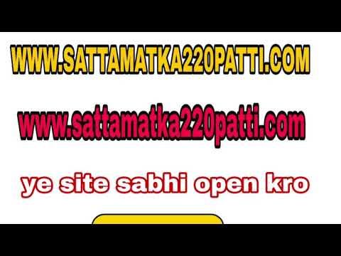 Morning syndicate open | 220 patti | 07-03-2018 - смотреть