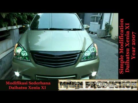 Video Modifikasi Harian Daihatsu Xenia XI 2007