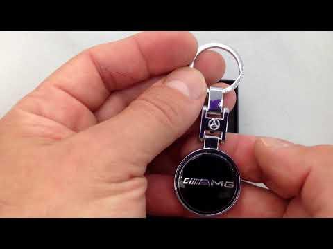 Брелок с логотипом Mercedes AMG