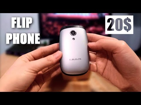 Under 20$ Flip Phone | Cloudfone ULTIMATE Feature Phone