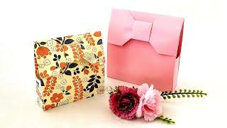 折り紙かんたんギフトバッグ🎀Origami Ribbon Gift Bag
