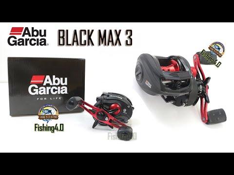 Máy Ngang Abu Garcia Black Max 3 Tay Trái Tay Phải