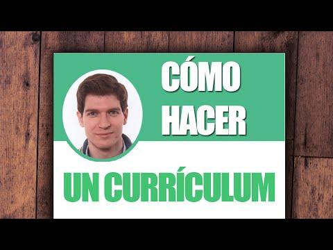 Cómo Hacer Un Buen Curriculum  miniatura