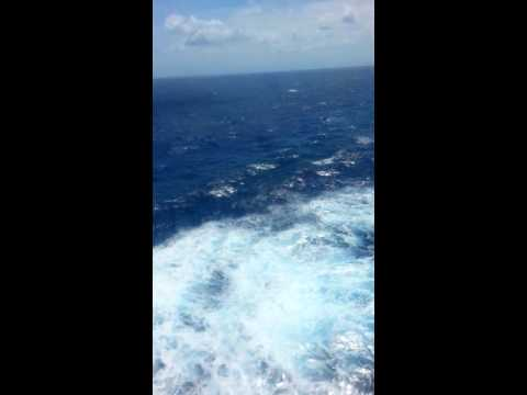 Atlantic ocean  8-25-16. Cruise ship  Ecstasy