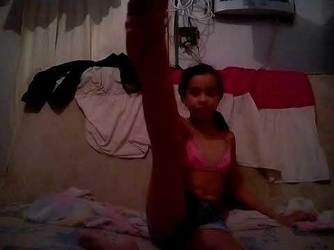 Fazendo ginástica