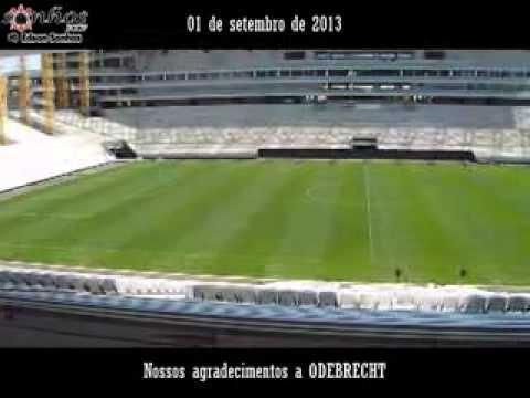 Sobrevoo na Arena Corinthians - Equipe SonhosSCCP