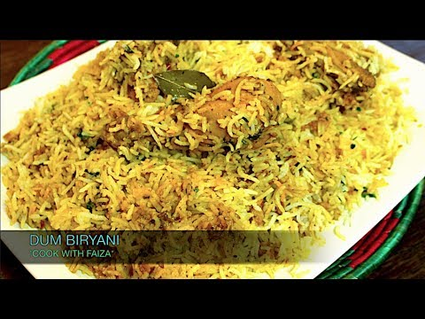CHICKEN DUM BIRYANI *COOK WITH FAIZA*