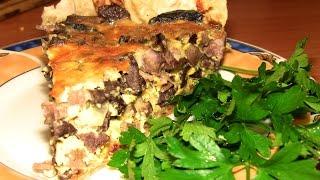 Пирог из лаваша с ливером.. Или что приготовить из легкого и других субпродуктов