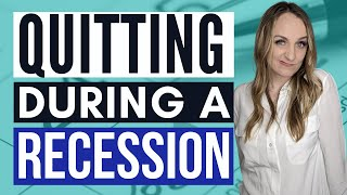 SHOULD I QUIT MY JOB DURING A RECESSION | I quit my job with no plan, should you?