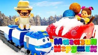 Мончичи: Вилли едет на Новый Год! Видео для детей.