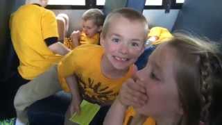 Kindergarten Field Trip to the Indianapolis zoo trip April 2015