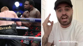 "SAM JONES REACTS TO ""STUNNING"" ALEXANDER POVETKIN KO WIN OVER DILLIAN WHYTE, REMATCH, JOYCE-DUBOIS"