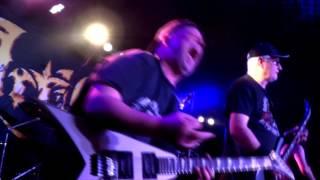 ARTILLERY -The Challenge , Santiago, Chile (21/08/16) Rock & Guitarras