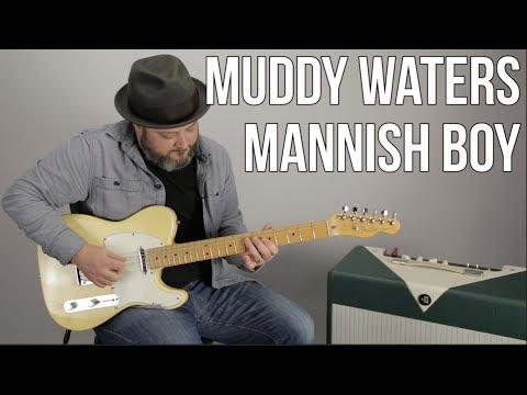 "Muddy Waters ""Mannish Boy"" Blues Guitar Lesson"