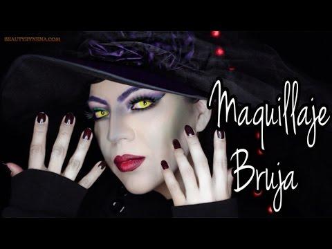 Maquillaje y Disfraz de Bruja Halloween ♥BeautybyNena