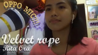 Rita Ora- VELVET ROPE (Cover) using OPPO's freebie MIC WITH STAND | April J.