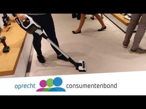 Steelstofzuigers: AEG FX9 & Kärcher VC5 Cordless & Bosch Unlimited - IFA 2018 (Consumentenbond)