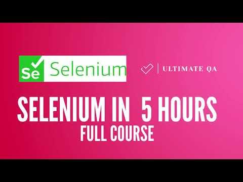 Selenium Tutorial For Beginners   Selenium with Java Full Course (Latest Content)