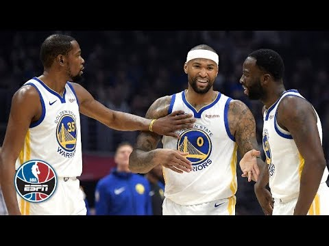 DeMarcus Cousins scores 14 points in his Warriors debut vs. the Clippers  43913c7ae