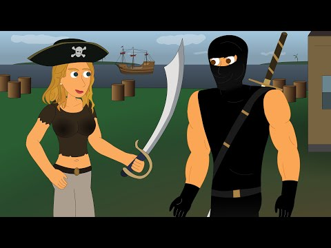 Ninja vs Pirate 2