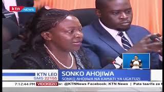 Gavana wa Nairobi Mike Sonko afika mbele ya kamati ya seneti kuhusu ugatuzi