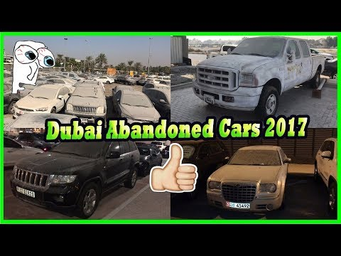 Finding Abandoned Cars Junkyard In Dubai. Abandoned American Cars. Abandoned Luxury Cars