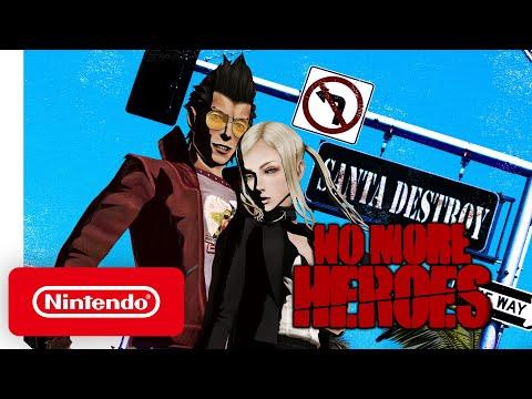Trailer de lancement de No More Heroes