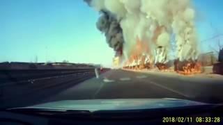 #22 Аварии на дорогах. Подборка ДТП и происшествий за Февраль 2018. Dash cam crash. Dashcam.