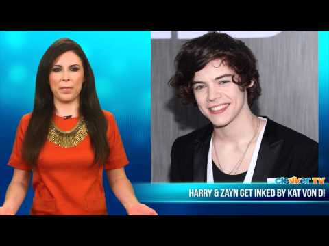 One Direction's Harry & Zayn Get Tattoos From Kat Von D