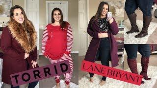 Torrid & Lane Bryant Try On Haul WINTER 2018 | Sarah Rae Vargas