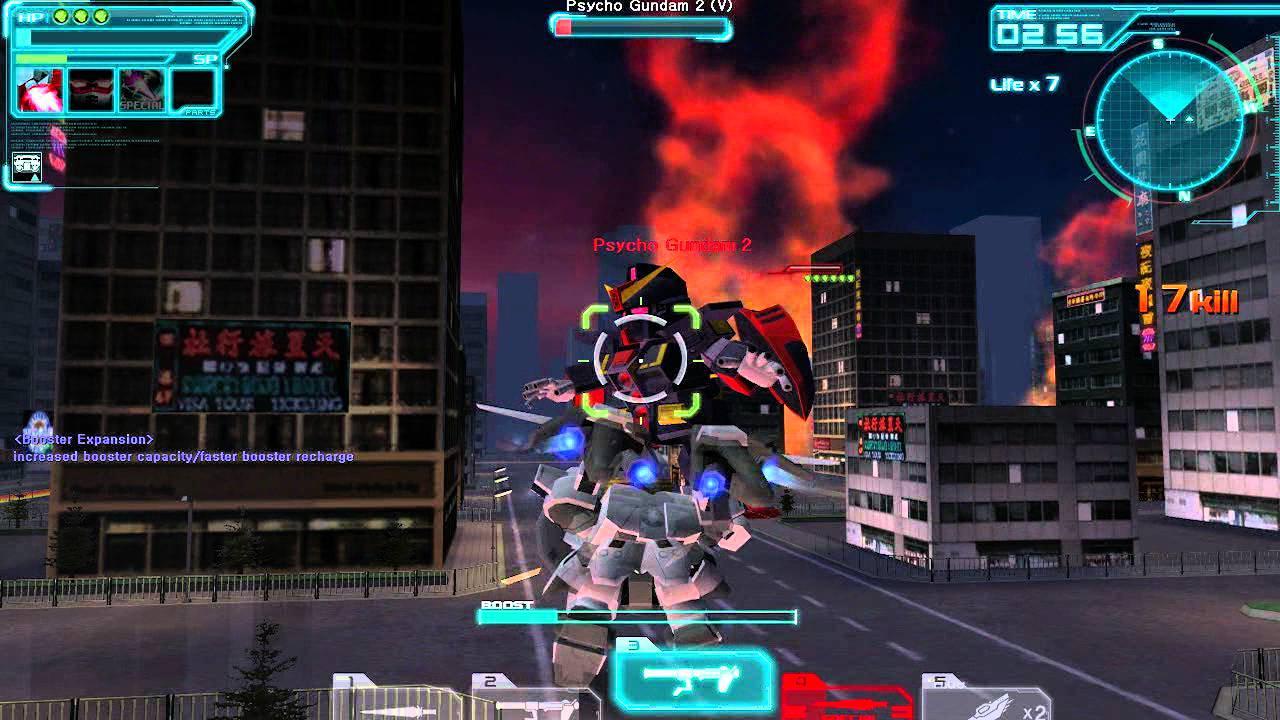 SD Gundam Capsule Fighter Online Gameplay