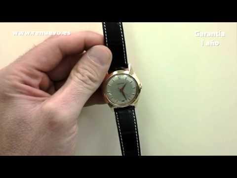 Reloj LONGINES de oro de 18 kilates de segunda mano E224054