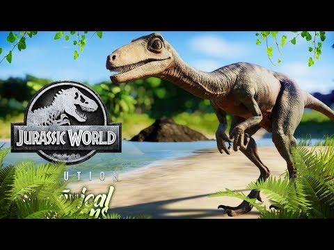 A SECRET DINOSAUR LAGOON | Botanical Gardens Reborn (Jurassic World: Evolution)