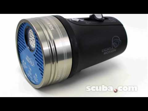 Light & Motion Sola 4000 L.E.D. Video Dive Light Video Review